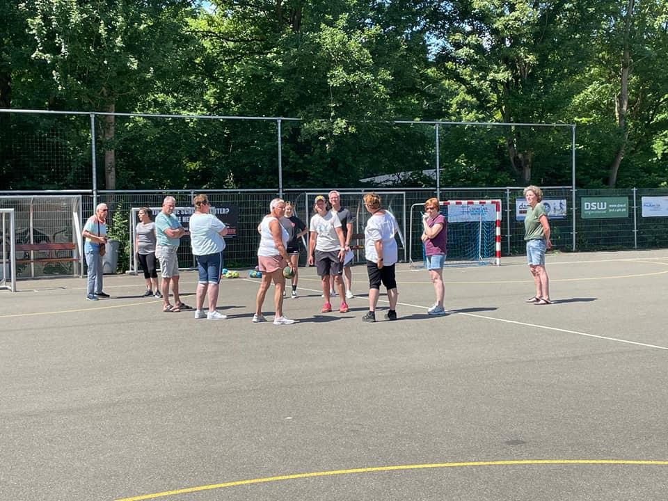 Aanstaande woensdag: walking handball