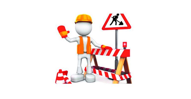 Parkweg dicht vanaf 17 mei